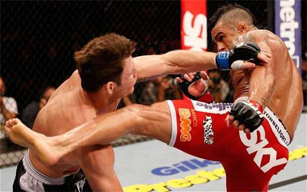 Michael Bisping TKO defeat to Vitor Belfort, The Non-Modern Man | Unfashionablemale