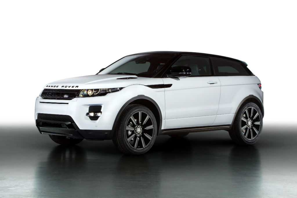 Range Rover Evoque Black Design Pack Front