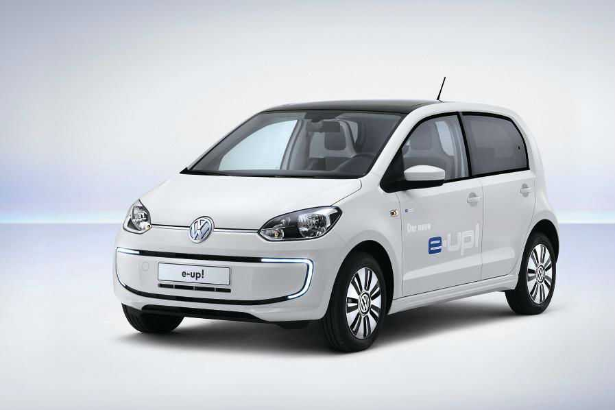 Volkswagen e up Front Angle