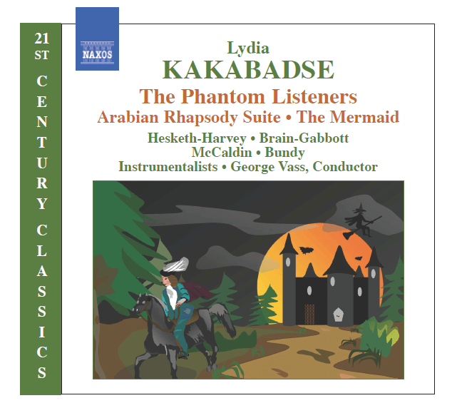 """Lydia Kakabadse provides an ethereal listening experience with her album """"The Phantom Listeners"""", The Non-Modern Man 