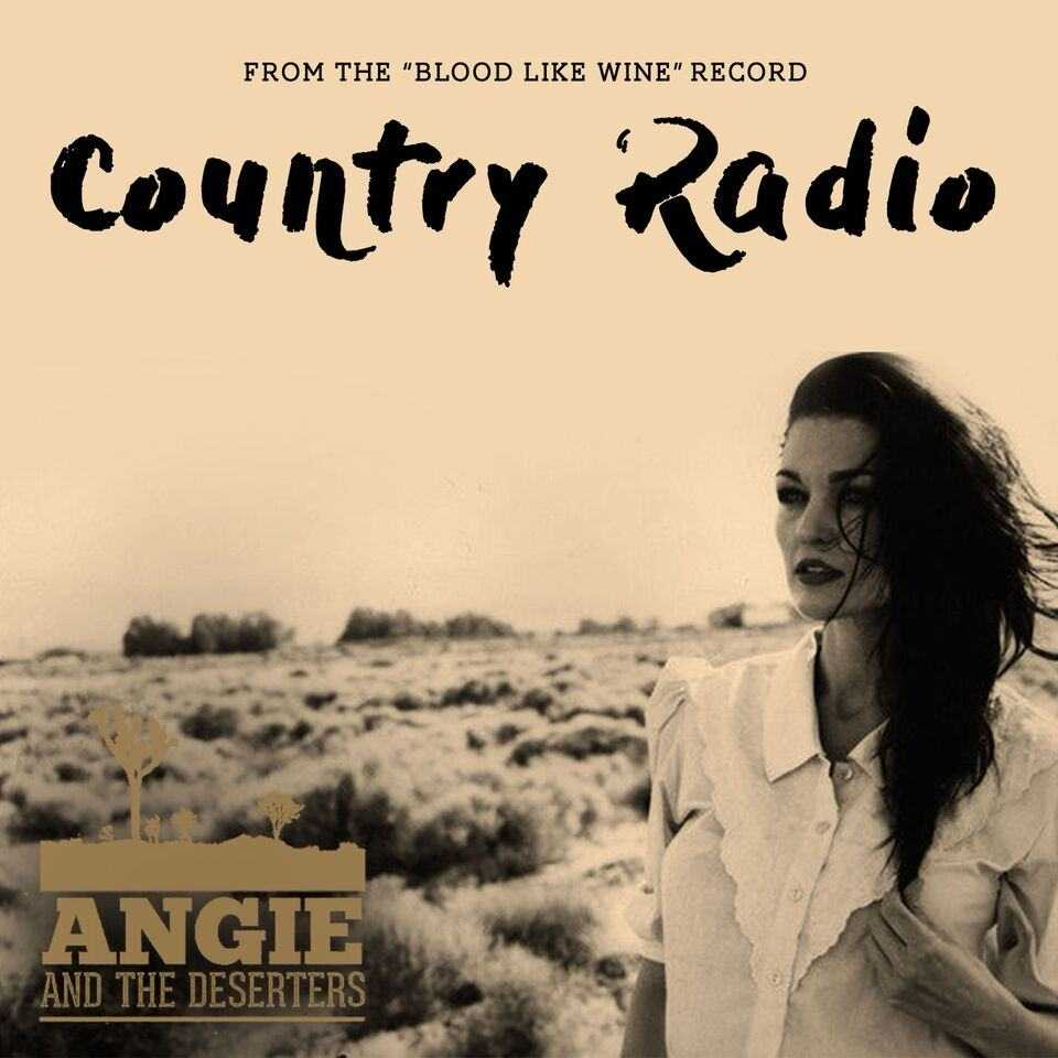 Angie and the Deserters with new single 'Country Radio', The Non-Modern Man | Unfashionablemale